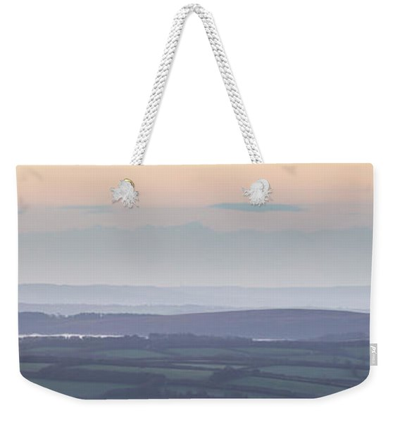 Dunkery Hill Morning  Weekender Tote Bag