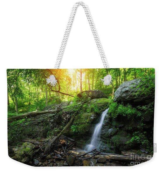 Dunnfield Creek Sunrise  Weekender Tote Bag