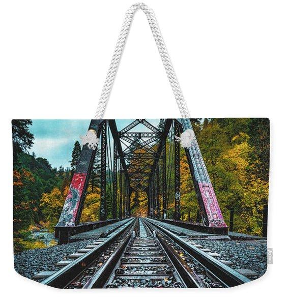Dunsmir Bridge Weekender Tote Bag
