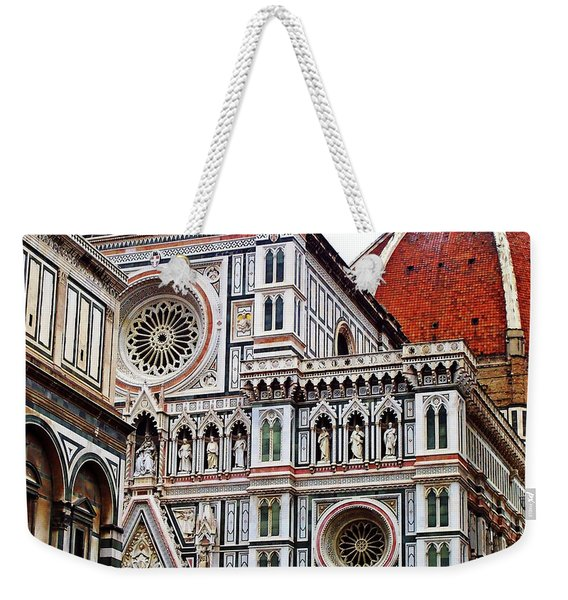 Duomo Facade Weekender Tote Bag