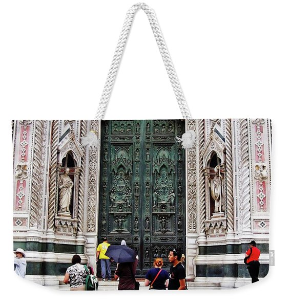 Duomo Portal Weekender Tote Bag
