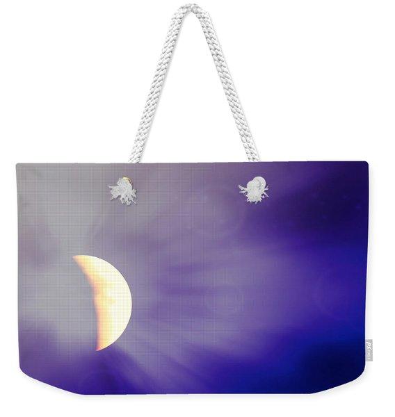 Aries Moon During The Total Lunar Eclipse 3 Weekender Tote Bag