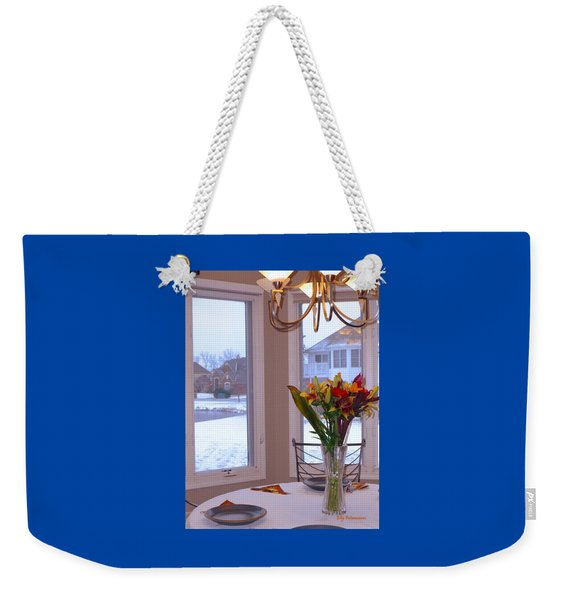 Dusk Dining View Weekender Tote Bag