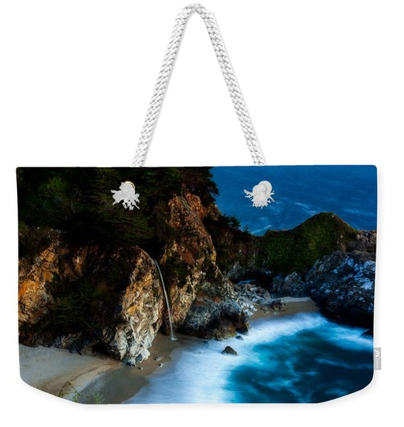 Dusk In The Cove Weekender Tote Bag