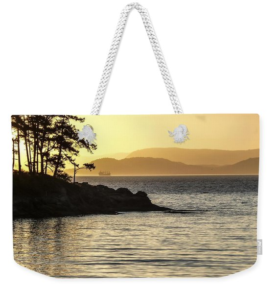 Dusk On Sucia Island Weekender Tote Bag