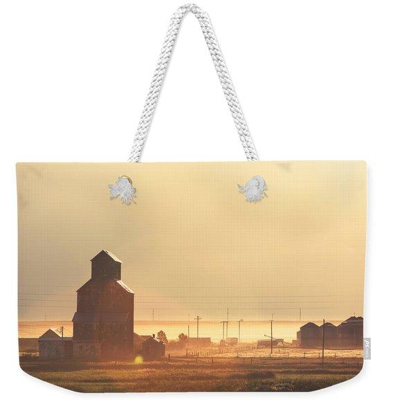 Dusty Straw Weekender Tote Bag