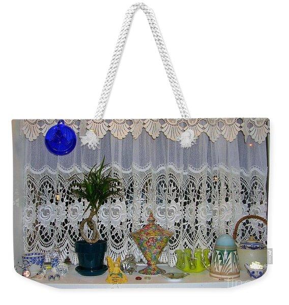 Dutch Lace Weekender Tote Bag