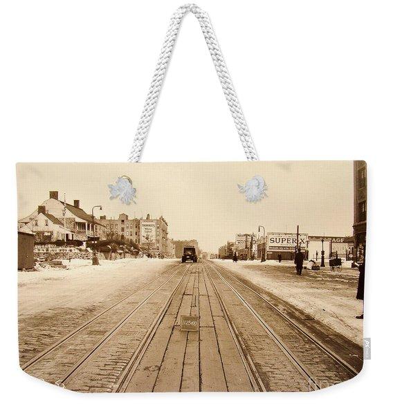 Dyckman House, 1928 Weekender Tote Bag