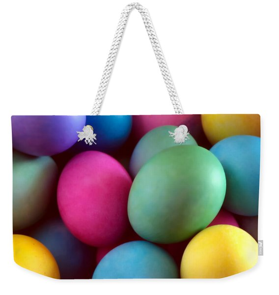 Dyed Easter Egg Abstract Weekender Tote Bag