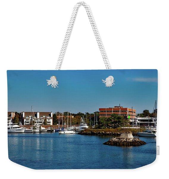 Dyke Park Marina Weekender Tote Bag