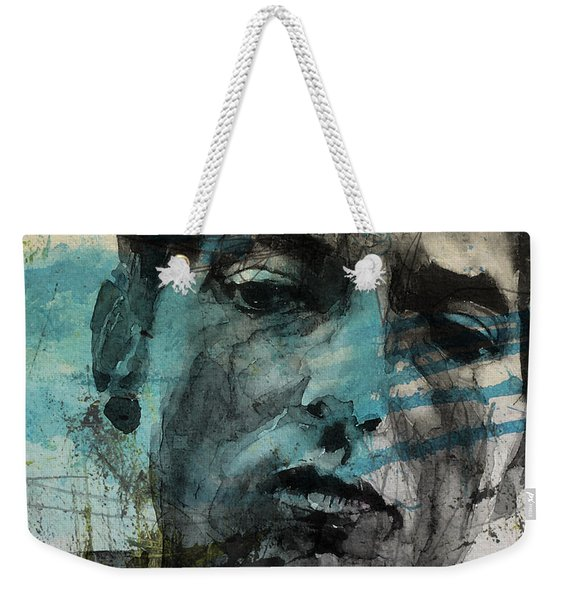 Dylan - Retro  Maggies Farm No More Weekender Tote Bag