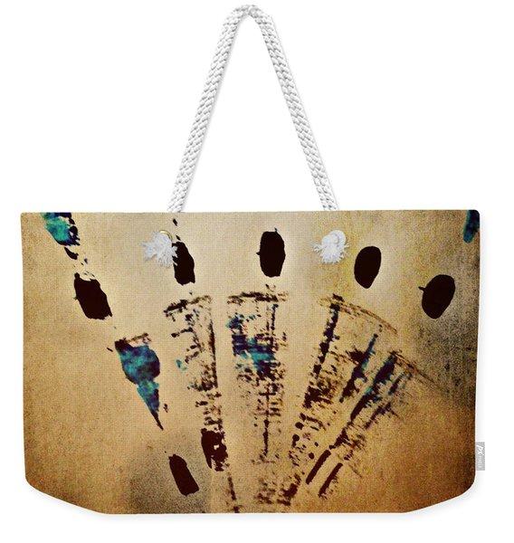Dynamic Motion Weekender Tote Bag