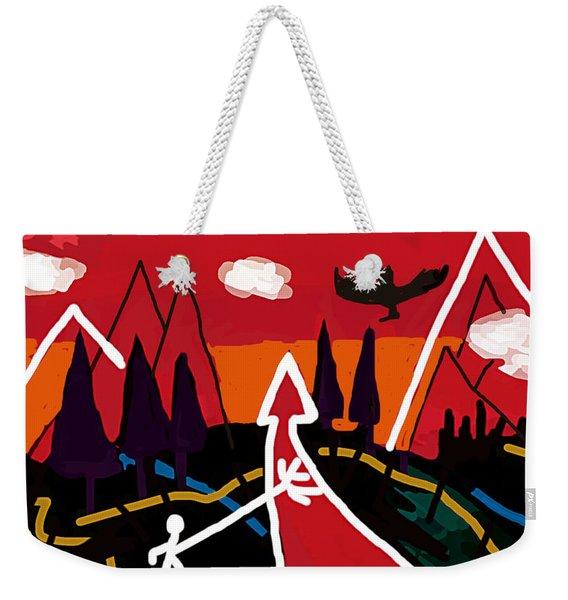 Dystopian Nite  Weekender Tote Bag