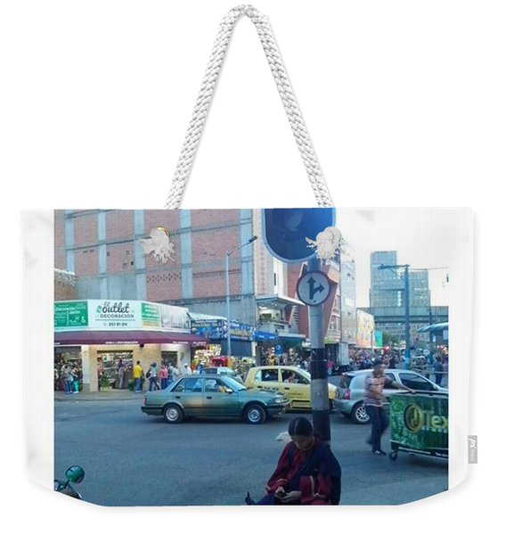 E-ditation  From Devotion By David Weekender Tote Bag