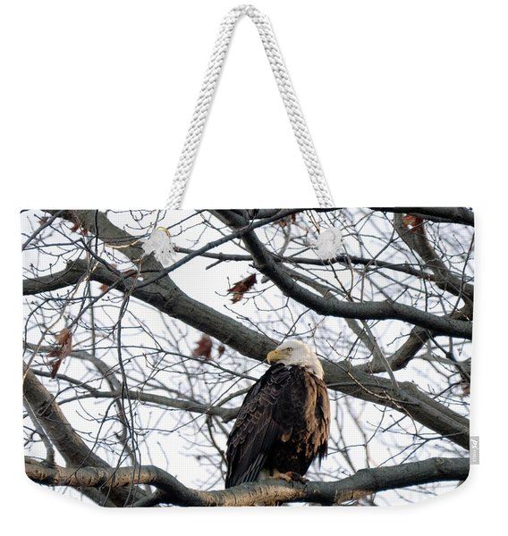 Eagel 0 Weekender Tote Bag