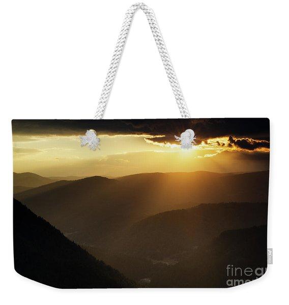 Eagle Eye Sunset 4557 Weekender Tote Bag