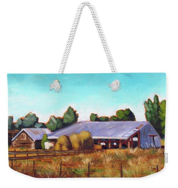 Eagle Road Barn Weekender Tote Bag