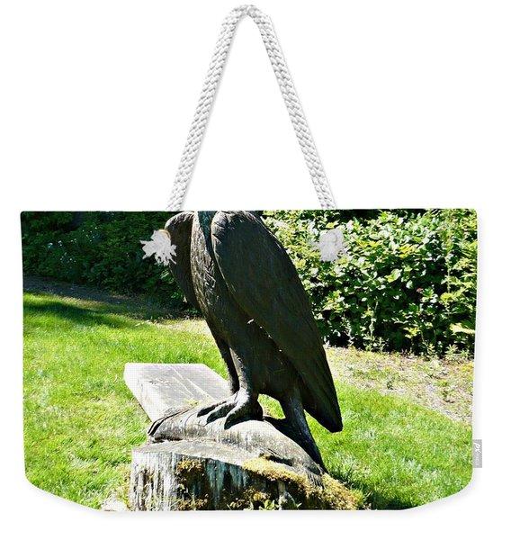 Eagle Totem Weekender Tote Bag