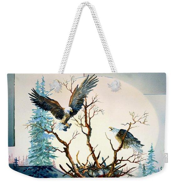 Eagles Nest Weekender Tote Bag