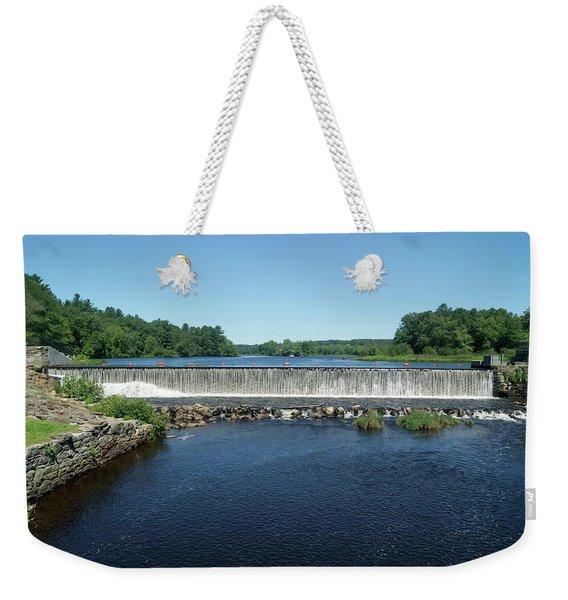 Eagleville Dam, Connecticut  Weekender Tote Bag