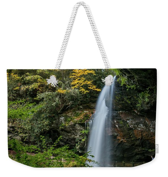 Early Autumn At Dry Falls Weekender Tote Bag