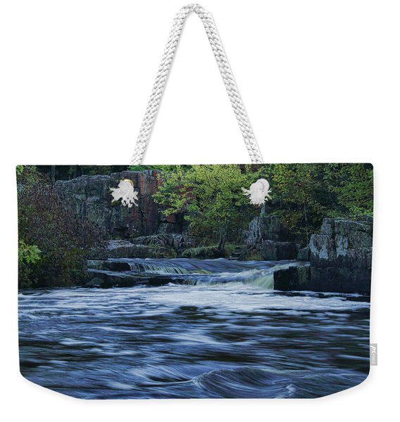 Early Fall At Eau Claire Dells Park Weekender Tote Bag