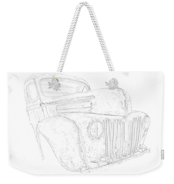 Early Ford Truck Weekender Tote Bag