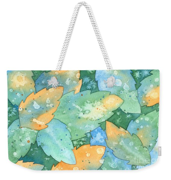 Early Frost Watercolor Weekender Tote Bag