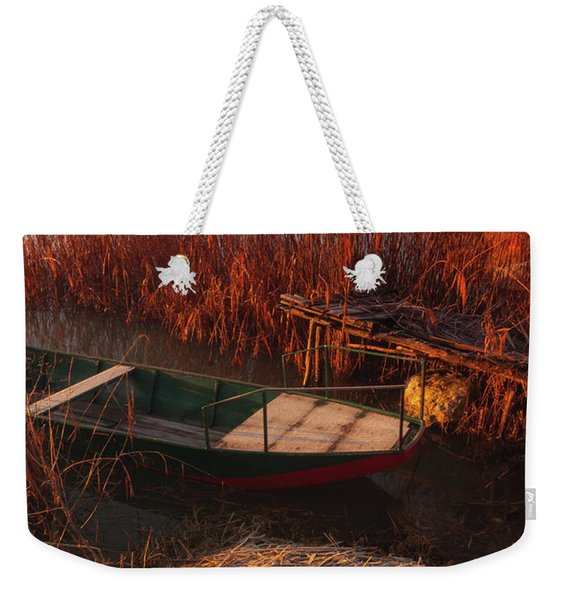 Early In The Morning Weekender Tote Bag