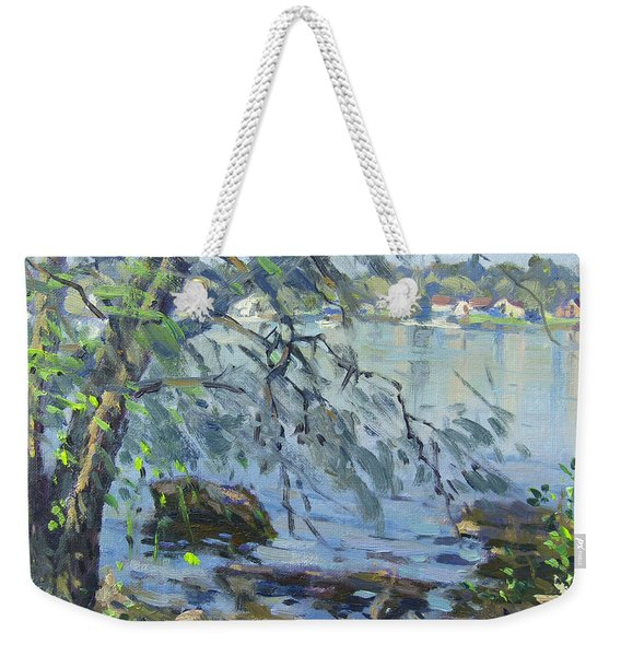 Early Morning At Fisherman's Park Weekender Tote Bag