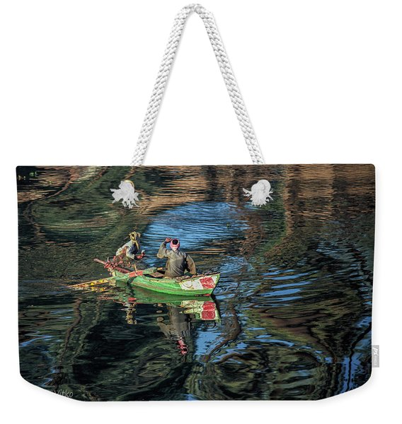 ...nile River Early Morning Magic.... Weekender Tote Bag
