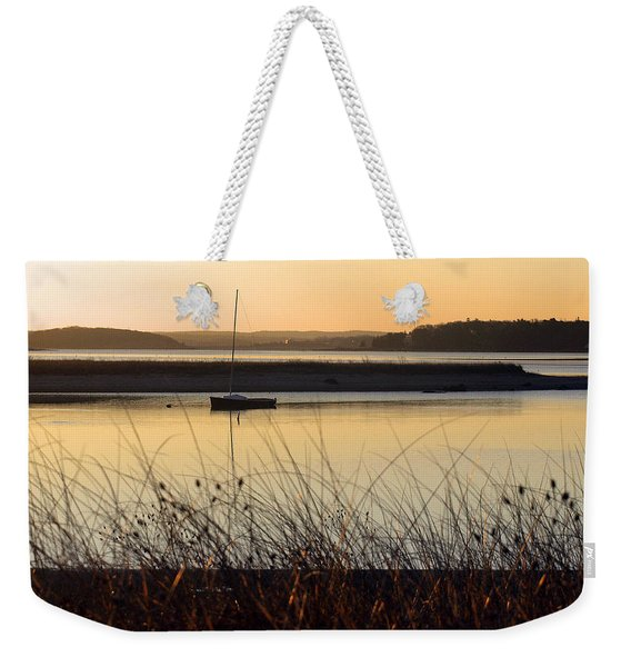 Early Morning Haze Weekender Tote Bag