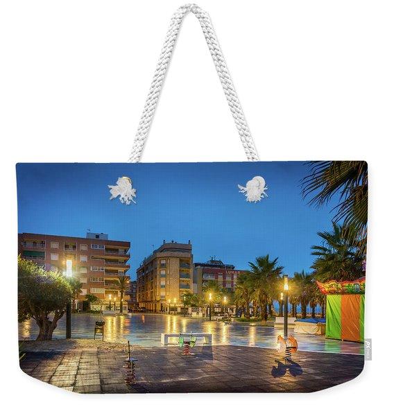Early Morning In La Plaza Weekender Tote Bag