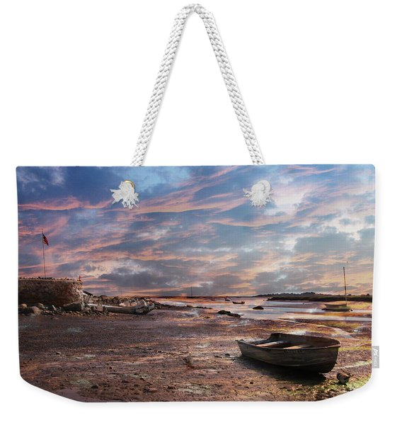 Early Morning Low Tide On The North Shore Weekender Tote Bag