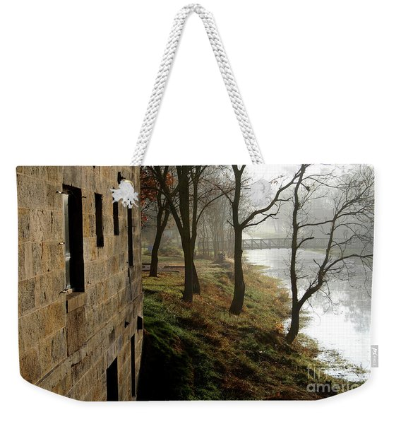 Early Morning Mist On The I  M Canal Weekender Tote Bag