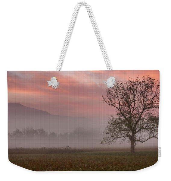Early Morning Promises Weekender Tote Bag