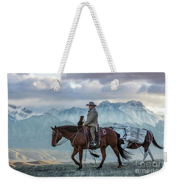 Early October Hunt Wild West Photography Art By Kaylyn Franks Weekender Tote Bag