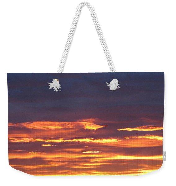 Early Prairie Sunrise Weekender Tote Bag
