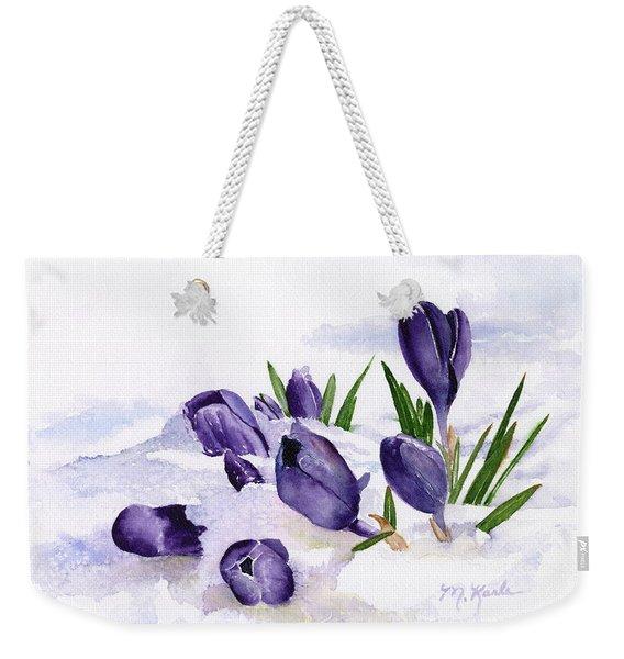 Early Spring In Montana Weekender Tote Bag