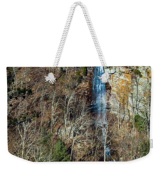 Early  Spring Waterfall  Weekender Tote Bag
