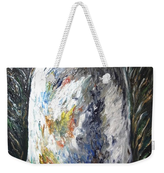 Earth Latte Stone Weekender Tote Bag