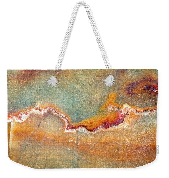 Earth Portrait 001-98 Weekender Tote Bag