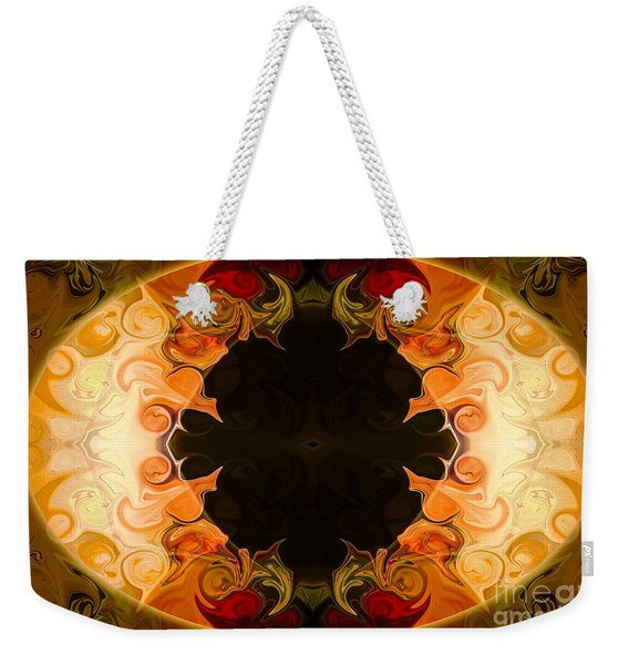 Earthly Undecided Bliss Abstract Organic Art By Omaste Witkowski Weekender Tote Bag