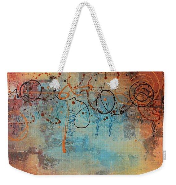 Ease Weekender Tote Bag