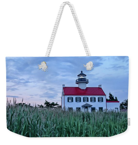 East Point At Twilight Weekender Tote Bag