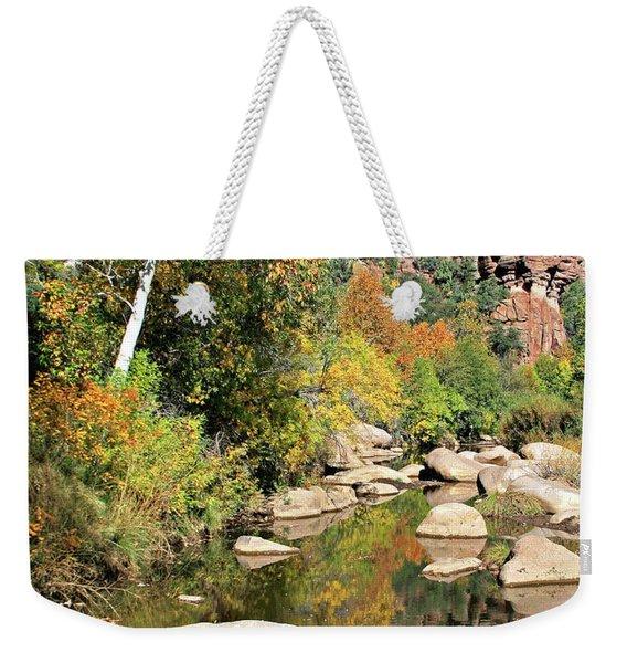 East Verde Fall Crossing Weekender Tote Bag