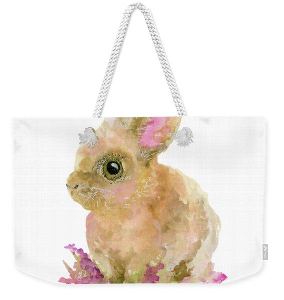 Easter Bunny Weekender Tote Bag