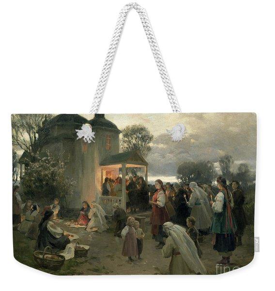Easter Matins Weekender Tote Bag
