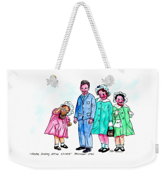 Easter Sunday - After Church Weekender Tote Bag