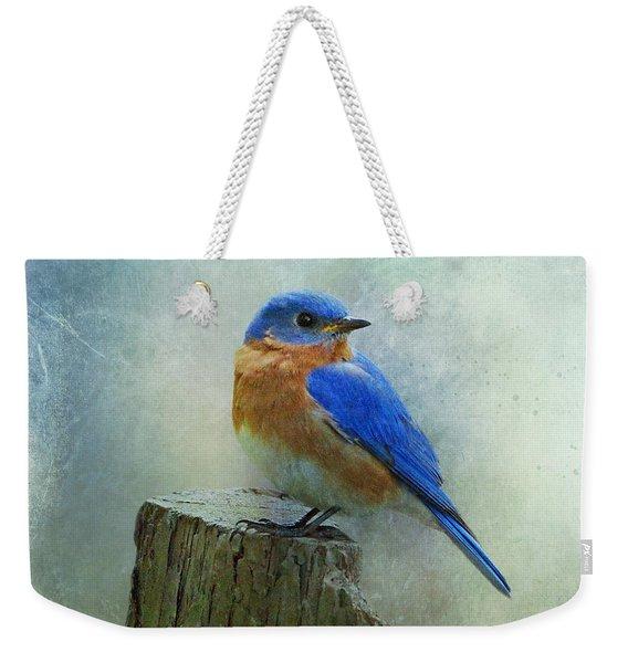 Eastern Bluebird II Weekender Tote Bag